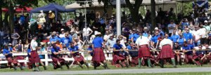 Ottawa's Cameron Highlanders ultimately won the Highlanders Tug-o-War Challenge Cup.