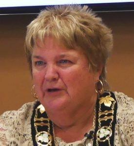South Dundas Mayor Evonne Delegarde. Zandbergen photo, Nation Valley News