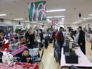 Crysler's Community Centre was a hive of pre-Christmas activity on Saturday. Zandbergen photo, Nation Valley News